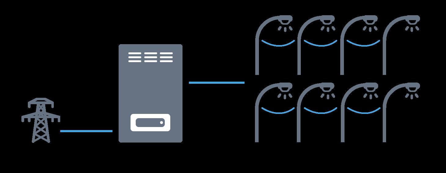 Схема работы редуктора мощности