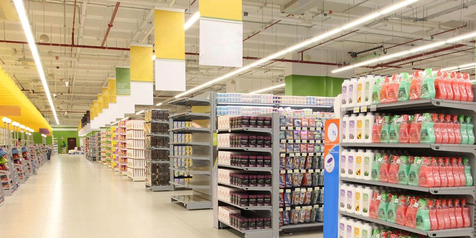 светодиодное освещение для торговых организаций (магазинов, супермаркетов, кафе, ресторанов)