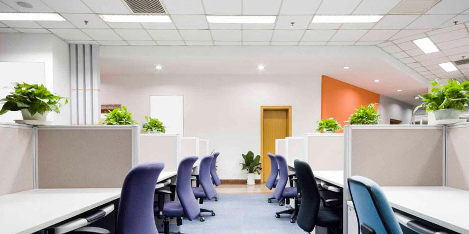 светодиодное освещение офисов и других помещений